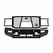 Ranch Hand Summit Front Bumper Camera And Sensors Black For Ram 2500/3500 2019