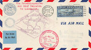 C13-15 65c-2.60 Zeppelin Set Of Three Flown First Day Covers [388419]
