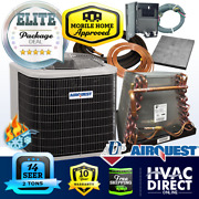 2.5 Ton 14 Seer Airquest-heil By Carrier Mobile Home Hp+coil System Line Set Kit