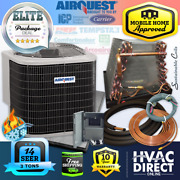 3 Ton 14 Seer Airquest-heil By Carrier Mobile Home Hp+coil System Line Set Kit