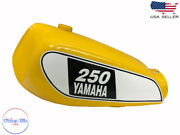 Fit For Yamaha Xt 250 3y3 4y1 Yellow Painted Petrol Tank 1980-1990