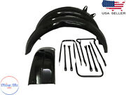 Fit For Bsa B31 B33 Rigid Frame Front And Rear Mudguard With Stays
