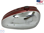 Bsa Thunderbolt A65 Bike Chrome Andfuel Tank 1960and039s Model-dual Carb  fits For