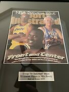 George Mikan Autograph Vintage Mpls Lakers Sports Illustrated Cover 1st Nba Hof
