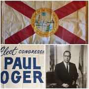 Wwii Silk Florida State Flag Annin Us House Of Rep Flag 1945 Southern Manifesto