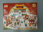 Chinese New Year Temple Fair Lego 80105 Brand New Factory Sealed In Hand Rare