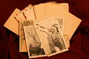 Ww2 Letters And Postcards Home To The Wife/kids - 6 American Indian Cards