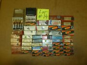 Assorted Carbide Inserts Mixed Brands Lot Of Mostly New Various Size