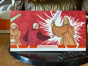 Star Wars Topps Artist Sketch Card 1/1 Revenge Of Sith Lak Lim Widevision