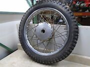 Greeves 250 Mx Challenger 24mx6 Front Wheel Rim 1968 Wd Rb-82