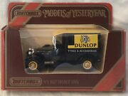 """Matchbox Models Of Yesteryear 1927 Talbot Van """"dunlop Tyres And Accessories .y-5"""