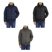 Polo Packable Hooded Down Jacket Coat Puffer -- 3 Colors --