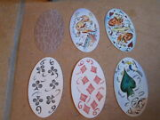 Very Original And Toll Designed Oval Playing Cards From Holland 1993