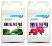 Pure Blend Pro Grow And Bloom 32 Oz For Soil Botanicare Combo