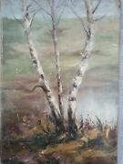 Very Old Painting Signed By Romanian Painter