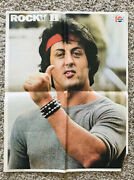 Rocky Ii Pepsi Poster 17x22 Sylvester Stallone 1979 Rare Vintage Only 1 On Ebay