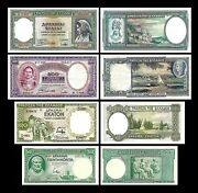 2x 50 100 500 1.000 Drachmai - Issue 01.01.1939 - Reproduction - 32