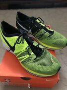 Nike Flyknit Trainer Volt Brand New With Box Size 11.5 2012