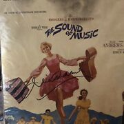 Julie Andrews Signed The Sound Of Music Lp In Person Rare