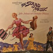 Julie Andrews Signed The Sound Of Music Lp Booklet In Person Rare