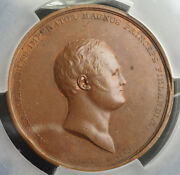 1811, Finland, Alexander I Of Russia. Copper Academy Of Abo Medal. Pcgs Sp-58