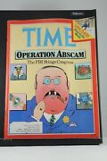 Time Magazine Feb 18 1980 Abscam Fbi Stings Congress Lake Placid Olympics