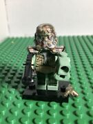 Nos 2013 Custom Lego Star Wars Camo Clone Warrior With 4 Weapons And Gas Mask