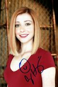 Alyson Hannigan Signed Autograph How I Meet Your Mother In Person 8x12 With Coa