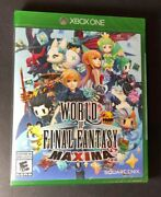 World Of Final Fantasy Maxima Xbox One New Ship Out Same Day Paid Ship Fast