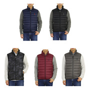 Polo Packable Down Puffer Vest W/pony -- 5 Colors --