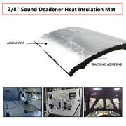10sq.ft Automotive Car Insulation Thermal Heat Sound Deadener With Adhesive