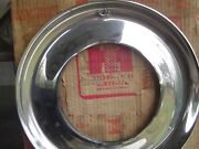 Vintage I H International Pickup Truck Hubcaps Trim Rings Scout 16 Inch