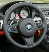 Bmw Oem Nappa Leather E89 Z4 M Sport Steering Wheel For Paddle Shifters New