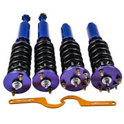 Twin-tube Damper Coilover Suspension Kit For Honda Accord 1998 -2002 Blue