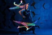Ignis Pixel Dragon Staff 32 Tech Visual Led Digital Props For Fire Light Show