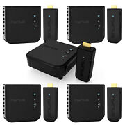 Nyrius Pro Wireless Hdmi Transmitter And Receiver - 5 Pack