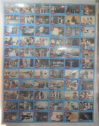 Star Wars Vintage Anh Series 1 Trading Card Uncut Press Sheet 1977 Not Cards