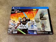 Disney Infinity Star Wars Starter Pack 3.0 Edition Ps4 Playstation 4 Disc Game