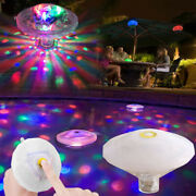 ❤ Underwater Lazy Spa Hot Tub Lights Swimming Pool 7 Modes Led Floating Light
