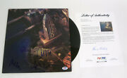 Foo Fighters Complete Band Signed Sonic Highways Austin Vinyl Record Psa/dna Coa