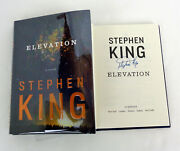 Stephen King Signed Autograph Elevation 1st Edition/1st Print Hardcover Book