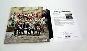 Mumford And Sons Complete Band Signed Babel Vinyl Record Album Psa/dna Coa