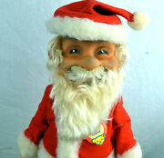 Vintage Steiff Santa Claus Doll With Paper Tag And Button L@@@k