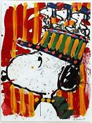 Tom Everhart Why I Dontandnbspwear Hats Lithograph Signed And Numbered