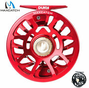 Maxcatch Dunn 2-7wt Saltwater Waterproof Fly Fishing Reel Fully Sealed Drag