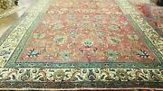 10and0392x14and039 Antique 1920 Hand-knotted Kurdish Sultan-abd Tribal Vintage Wool Rug