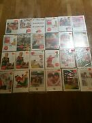 Vintage Coke Coca Cola Lot Of 24 Magazine Ads 1930s To 60s In Wrapper