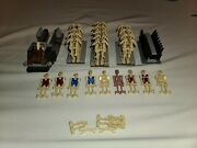Lego Star Wars Huge Minifigures Lot, All Retired And Rare 98 Figures