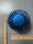 Heatsink, Round, For Power Led, 4 X 2.5, Blue Color