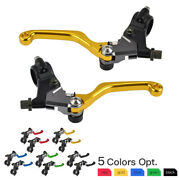 Cnc Brake Clutch Levers Assembly For Suzuki Ts125 Duster Ts185 Sierra 1971-1981